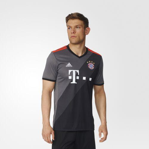adidas - Men's FC Bayern Away Replica Jersey Granite / Dgh Solid Grey / Black AZ4656