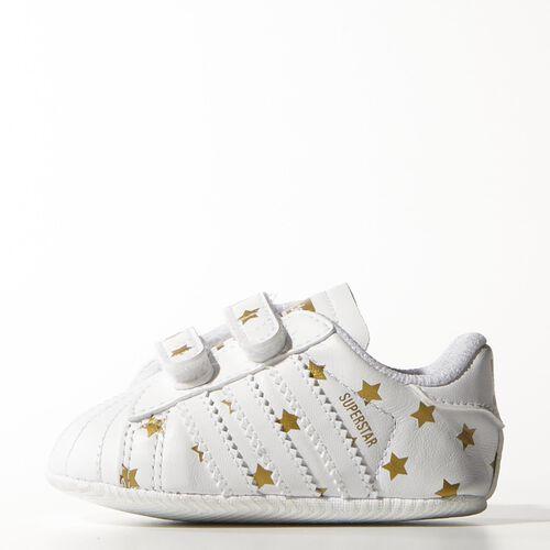 adidas - Infants Superstar Crib Shoes Ftwr White / Ftwr White / Ftwr White M17224