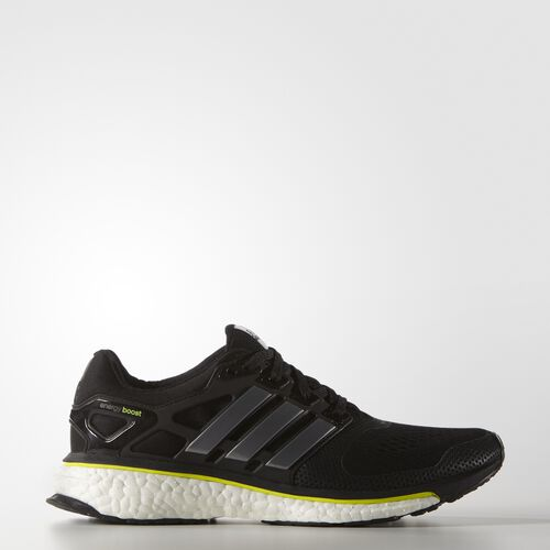adidas - Women's Energy Boost ESM Shoes Core Black/Core Black/Solar Yellow B23159