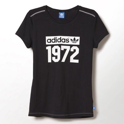 adidas - Women's Super Logo Tee Black M69946