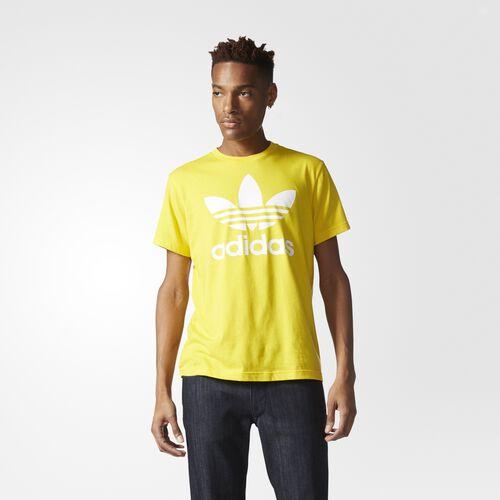 adidas - Hommes Originals Trefoil Tee Eqt Yellow AY7707