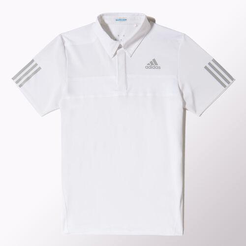 adidas - Men's Barricade Polo Shirt White F96508