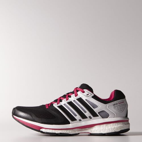 adidas - Femmes Supernova Glide Boost Shoes Black / Running White F32280