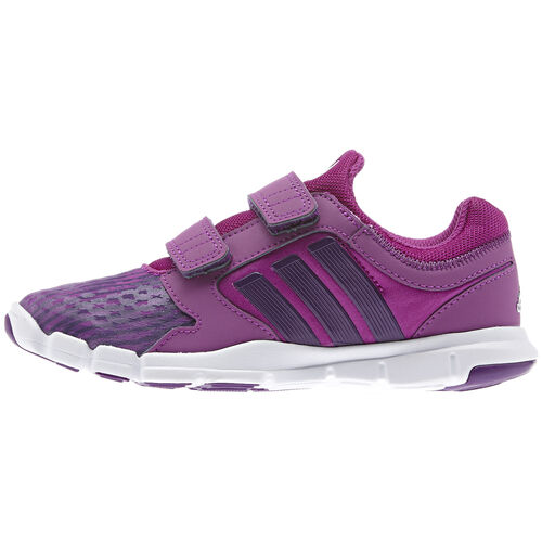 adidas - Kids Adipure Trainer 360 Shoes Vivid Pink / Tribe Purple / Metallic Silver M22476