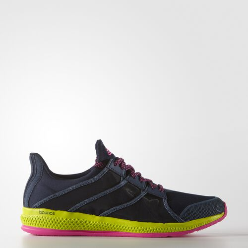 adidas - Femmes Gymbreaker Bounce Shoes Collegiate Navy/Blue/Shock Pink AQ4878