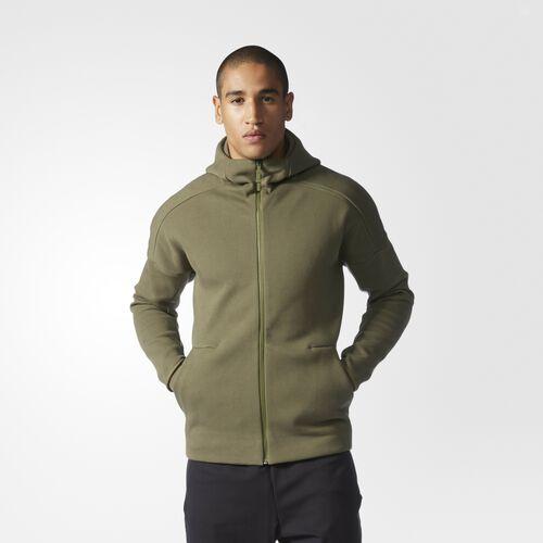 adidas - Men's adidas Z.N.E. Hoodie Olive Cargo B49256