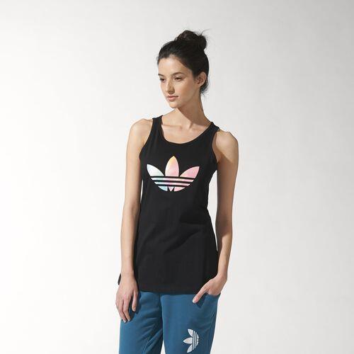adidas - Women's Fading Logo Tank Black S18490