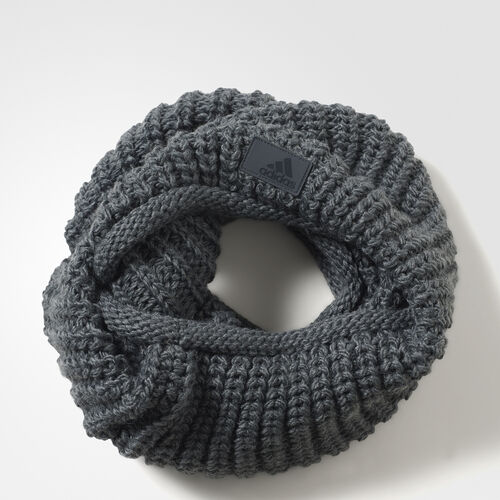 adidas - Femmes Chunky Loop Scarf Dark Grey Heather/Dark Grey Heather/Ch Solid Grey AY7876