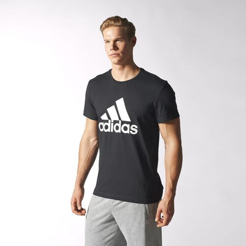 adidas - Men's Sport Essentials Logo Tee Black S23014