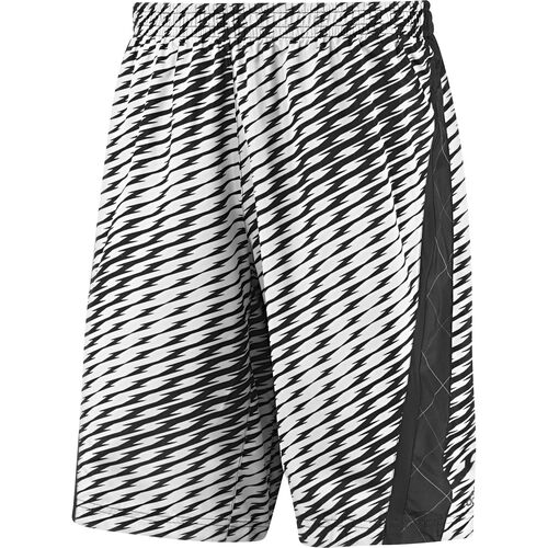 adidas - Men's Supernova 11-Inch Printed Shorts White / Black D80073