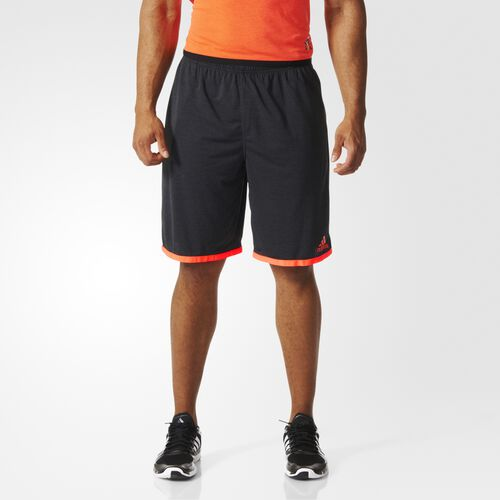 adidas - Hommes Uncontrol Climachill Shorts Chill Black Mel / Solar Red S27008
