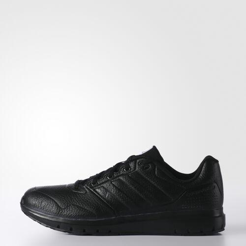 adidas - Hommes Duramo Trainer Lea Shoes Core Black / Core Black / Iron Met. AF6046
