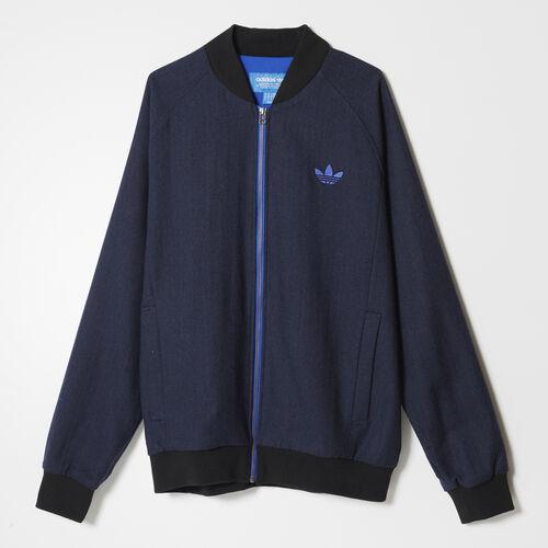 adidas - Hommes Superstar Tweed Jacket Collegiate Navy AB7640