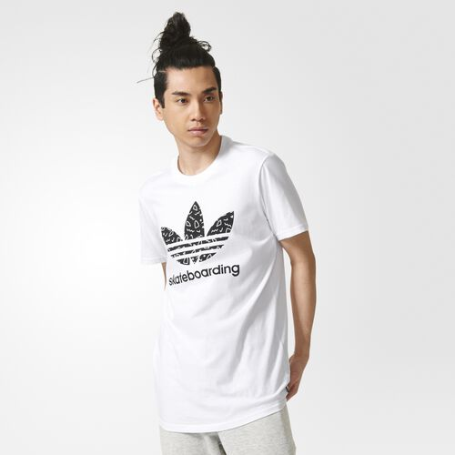 adidas - Men's 3.0 Scatter Tee White/Black AY8912