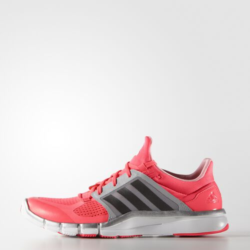 adidas - Women's adipure 360.3 Shoes Flash Red/Dark Grey HeatherSolid Grey/Silver S77596