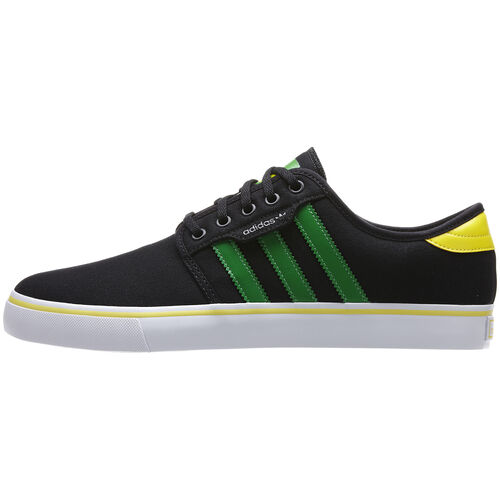 adidas - Hommes Seeley Shoes Black / Fairway / Sun G98084