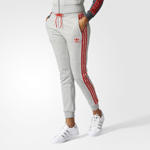 adidas - Pants con resorte Originals Los Ángeles Medium Grey Heather BJ8346