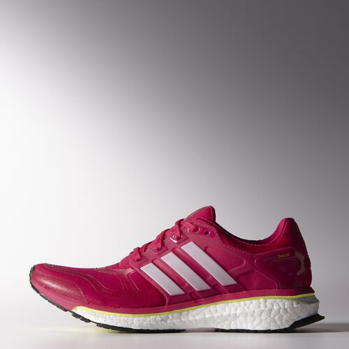 adidas - Women's Energy Boost 2.0 Shoes Vivid Berry / Pearl Metallic / Glow F32257