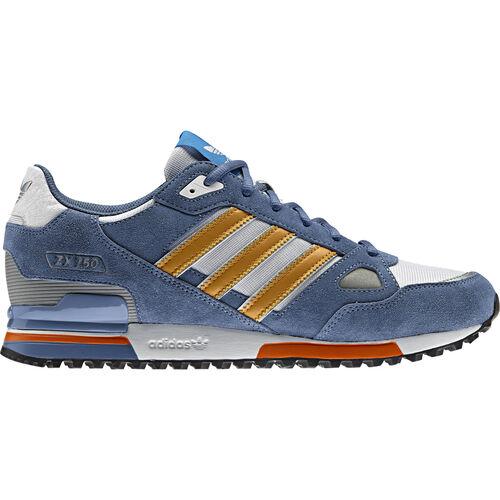 adidas - Hommes ZX 750 Shoes Slate / Running White / St Goldenrod G96723