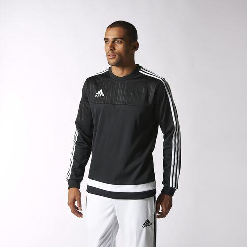 adidas - Tiro15 Sweatshirt Black  /  White  /  Black S22426