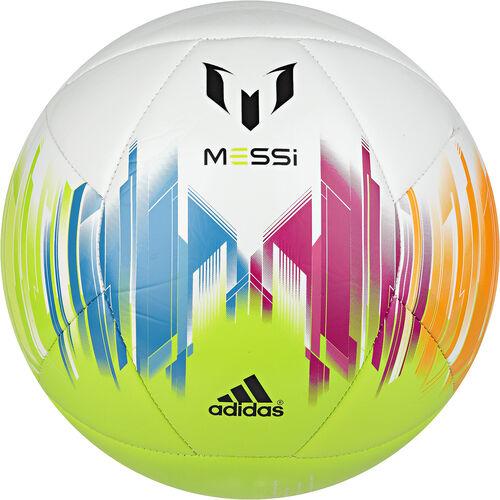 adidas - Messi Soccer Ball White / Solar Zest / Vivid Yellow G83961
