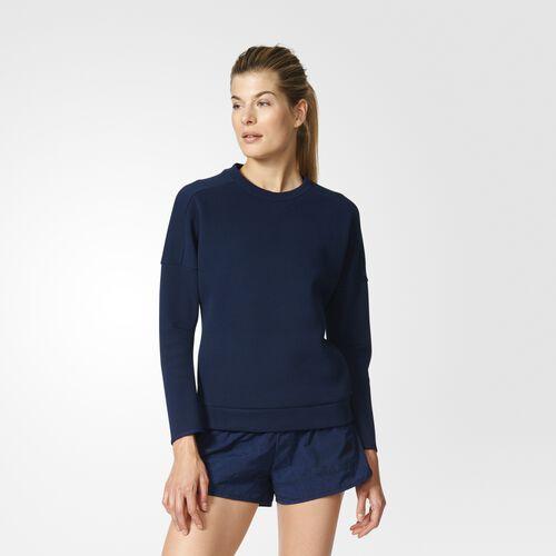 adidas - Women's adidas Z.N.E. Crewneck Sweatshirt Collegiate Navy S94580