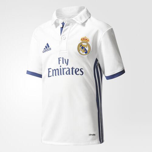 adidas - Real Madrid Home Mini Kit Crystal White  /  Raw Purple AI5192
