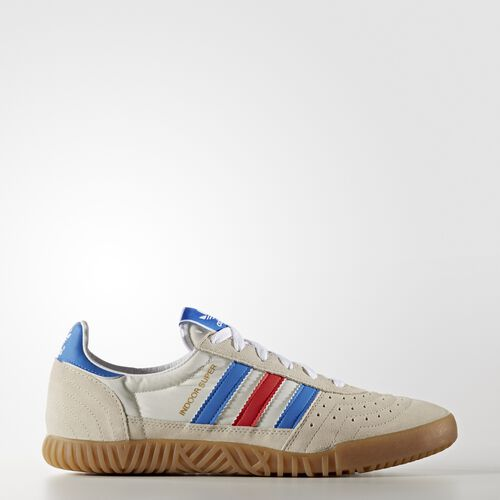 adidas - Men's Indoor Super SPZL Shoes Chalk White/Bright Royal/ White S75926