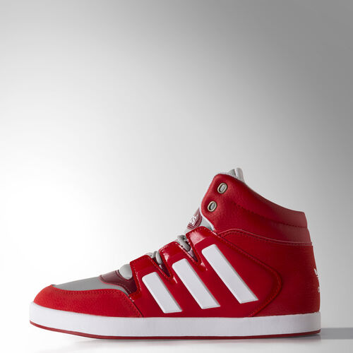 adidas - Men's Dropstep Shoes Collegiate Red/Ftwr White/Clear Onix M17058