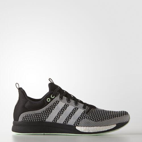 adidas - Women's adizero Feather Boost Shoes Black / Frozen Green / Black S82981