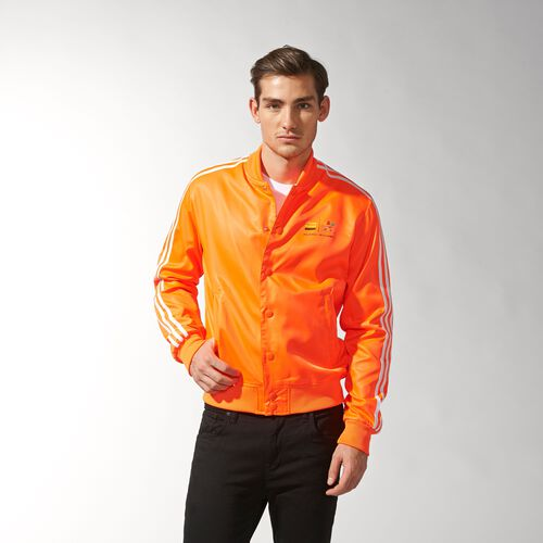 adidas - Men's Pharrell Williams Track Jacket Solar Orange Z97399