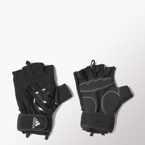 adidas - Men's Performance Glove Black / Metallic Silver F49704