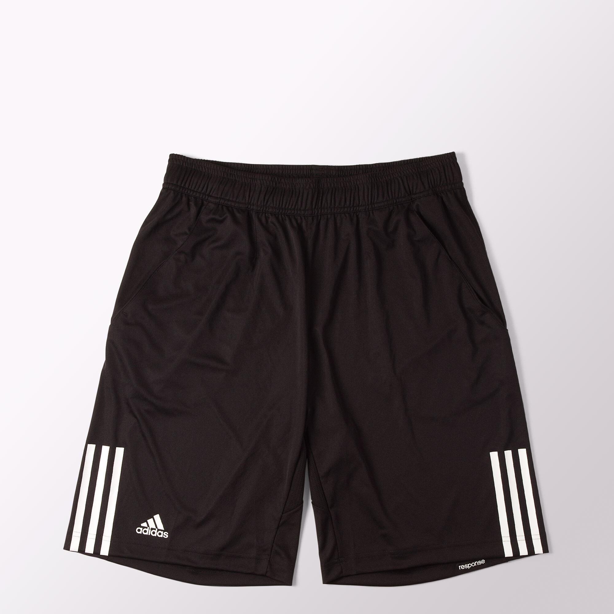adidas shorts de tennis response bermuda negro adidas mexico. Black Bedroom Furniture Sets. Home Design Ideas