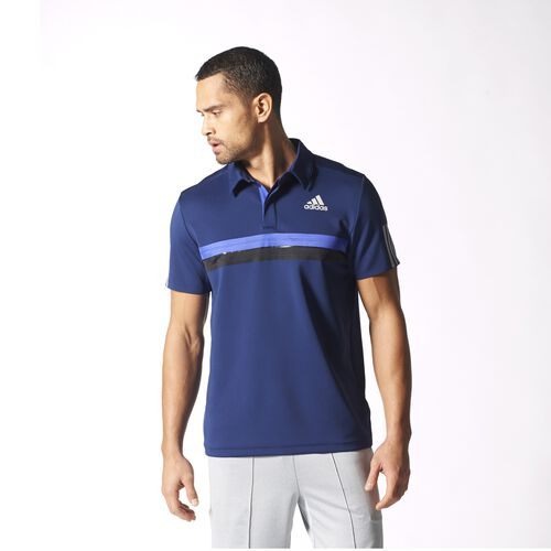 adidas - Hommes Barricade Polo Shirt Night Sky S15686