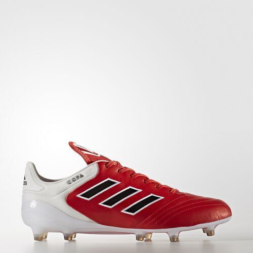 adidas - Copa 17.1 Firm Ground Cleats Red  /  Black  /  Running White BB3551