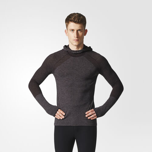 Men's Climaheat Primeknit Hooded Tee Adidas