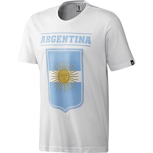 adidas - Men's Argentina Tee White S05687