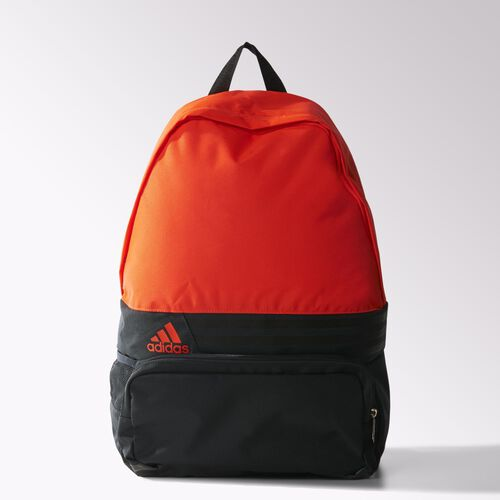 adidas - DER 3-Stripes Backpack Dark Grey / Black / Solar Red S23073