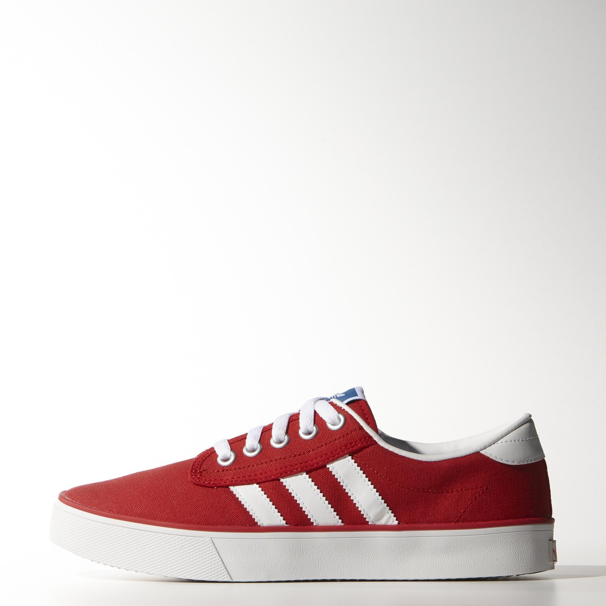 zapatillas adidas kiel rojas