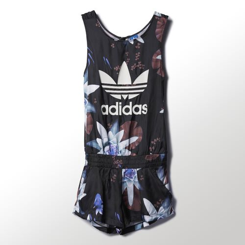adidas - Femmes Lotus Print All-in-One Multicolor AC2318