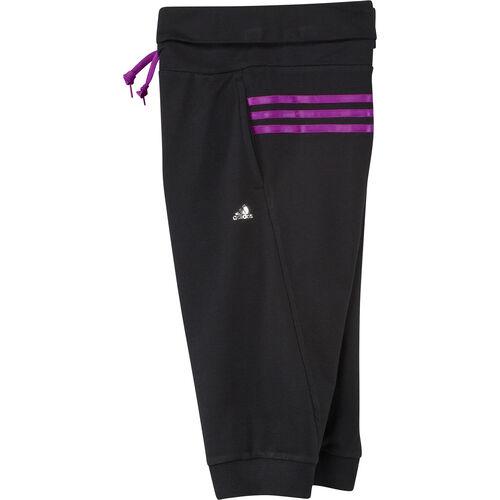 adidas - Enfants Dance Three-Quarter Pants Black / Vivid Pink F79762