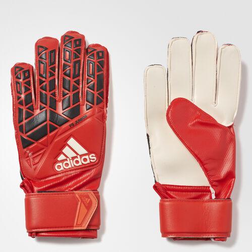 adidas - Guantes de arquero ACE Fingersave Red/Core Black/White AZ3680