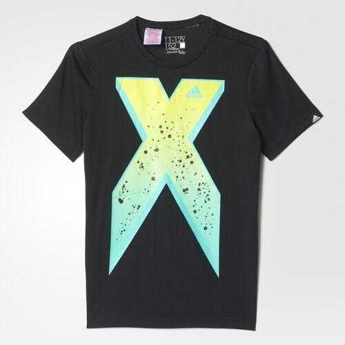 adidas - Enfants X Logo Tee BLACK AI5685