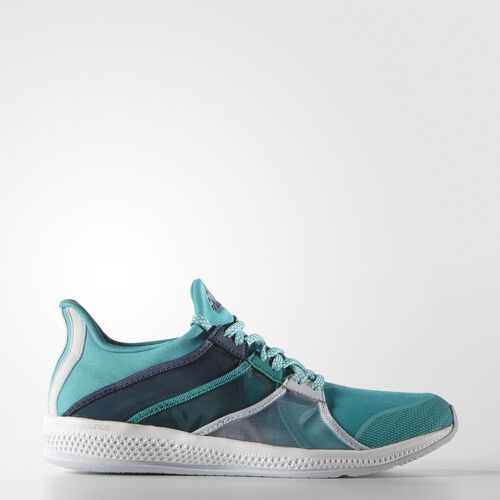 adidas - Femmes Gymbreaker Bounce Shoes Shock Green/Halo Blue/Blue AF5946