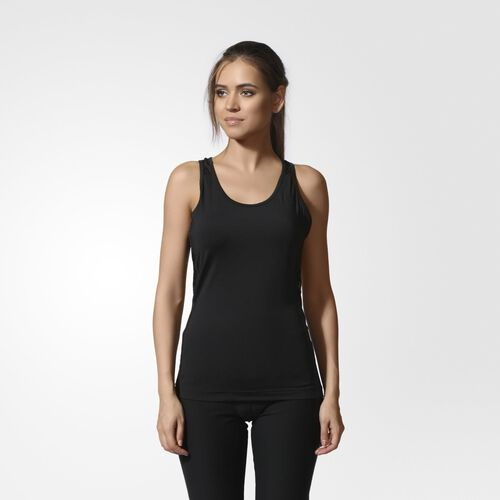 adidas - Women's Workout Easy Tank Top Black AB5858