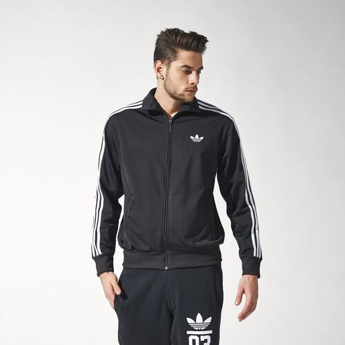 adidas - Hommes Firebird Track Jacket Black / White S23129