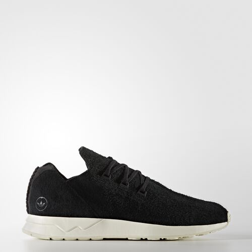 adidas - Hommes Originals by wings + horns ZX Flux ADV Leather Shoes Core Black/Core Black/Off White BB3751