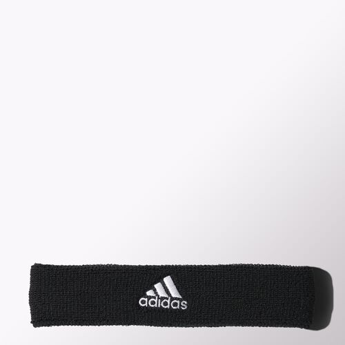 adidas - Tennis Headband Black/White S22008