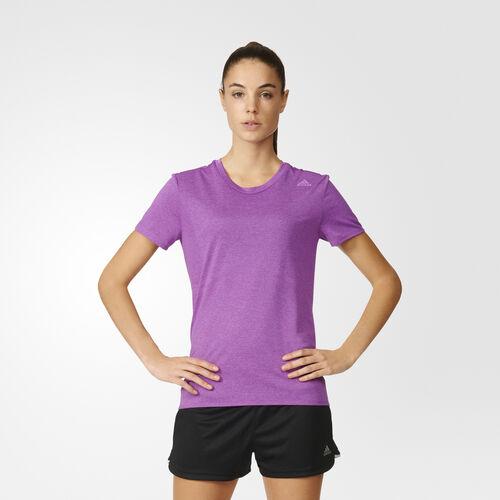 adidas - Femmes Supernova Short Sleeve Tee Shock Purple S94408