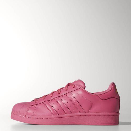 adidas - Enfants Superstar Supercolor Shoes Semi Solar Pink/Semi Solar Pink/Semi Solar Pink S31606
